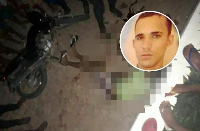 Jovem é morto a tiros em frente ao Hospital Municipal de Serrolândia