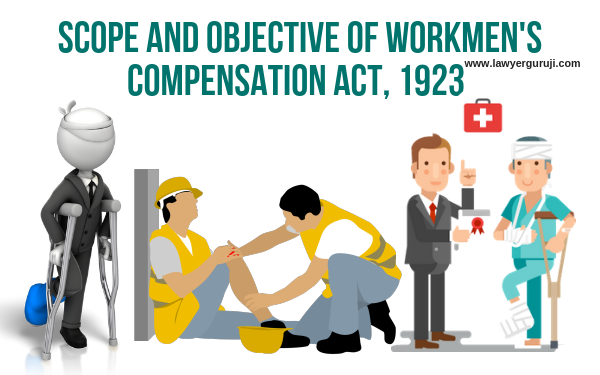 कर्मचारी प्रतिकर अधिनियम क्या है ? Scope and objective of workmen's compensation act, 1923.