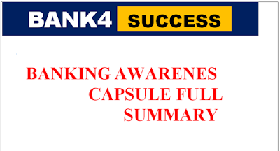 Complete Banking Awareness Capsule PDF Free Download