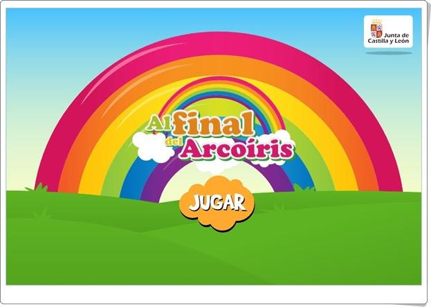 """""""Al final del Arcoíris""""  (Juego interdisiciplinar de Infantil)"""