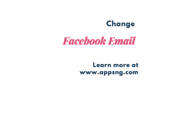 How to Change My Facebook Email Address