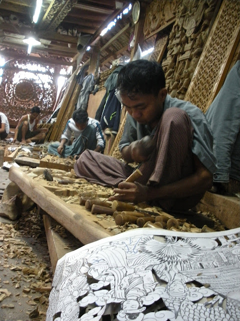 carving mandalay
