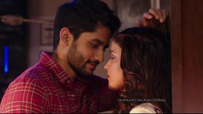 Naga Chaitanya Romance HD Image In Yuddham Sharanam