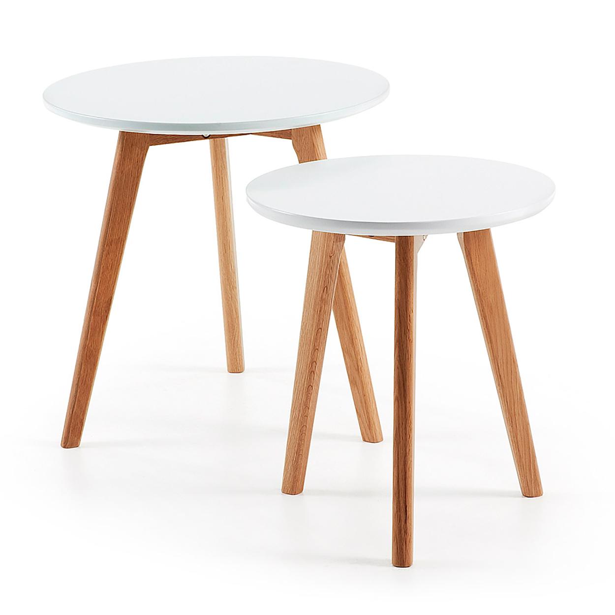 Muebles de sal n mesas auxiliares puntos de apoyo para - Mesas auxiliares de cristal ...
