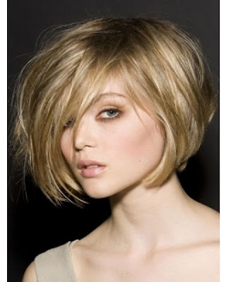 West Hairstyles: short angled bob hairstyles