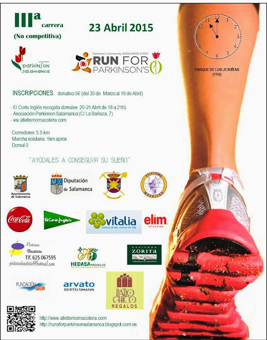 Run For Parkinson Salamanca - III Carrera popular