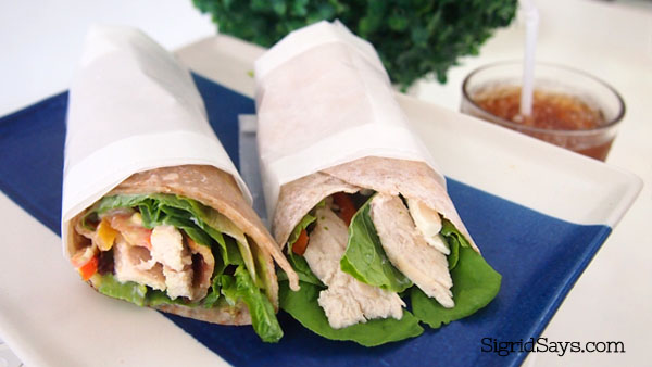 chicken wraps - healthy snacks - Bacolod Cupcake Cafe - Bacolod restaurants - Bacolod blogger - food blogger - food