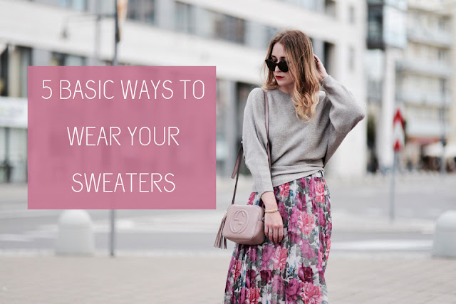 5 Ways to Use Your Basic Sweater Fashion