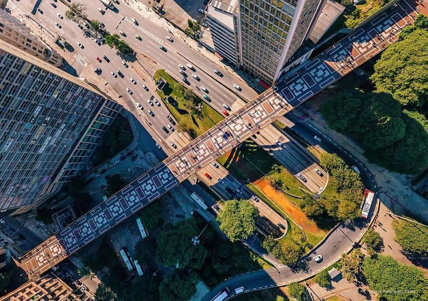 Beautiful Panoramic Pictures Of 20 Famous Cities - São Paulo, Brazil