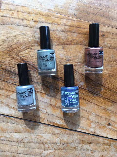 Primark Exclusive: Holler and Glow Nail Polish: Review and Swatches