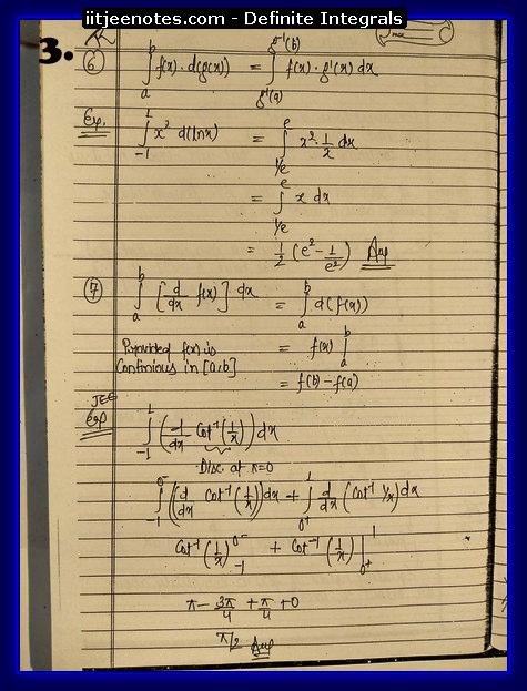 definite integrals 3