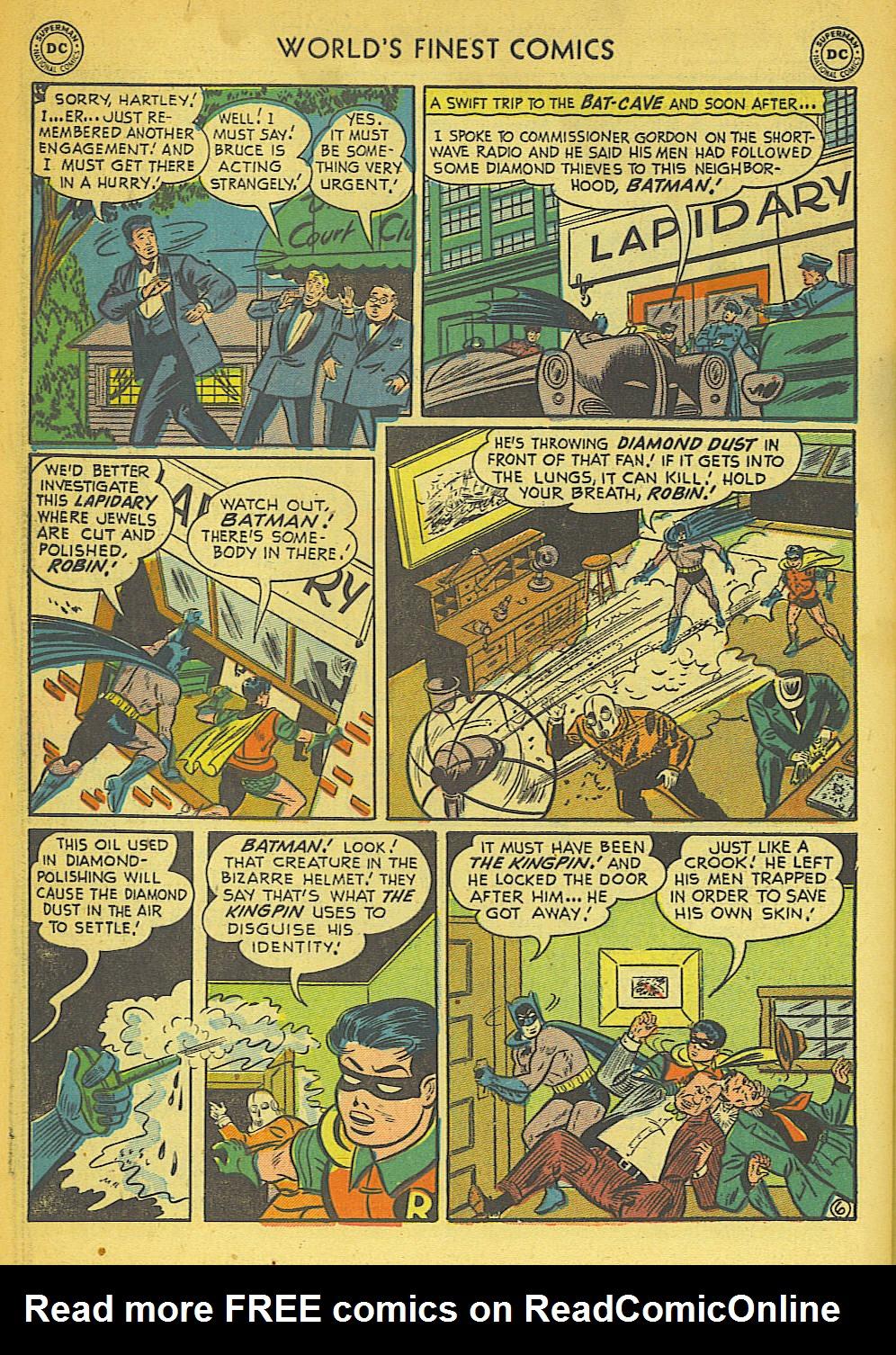 Read online World's Finest Comics comic -  Issue #57 - 58