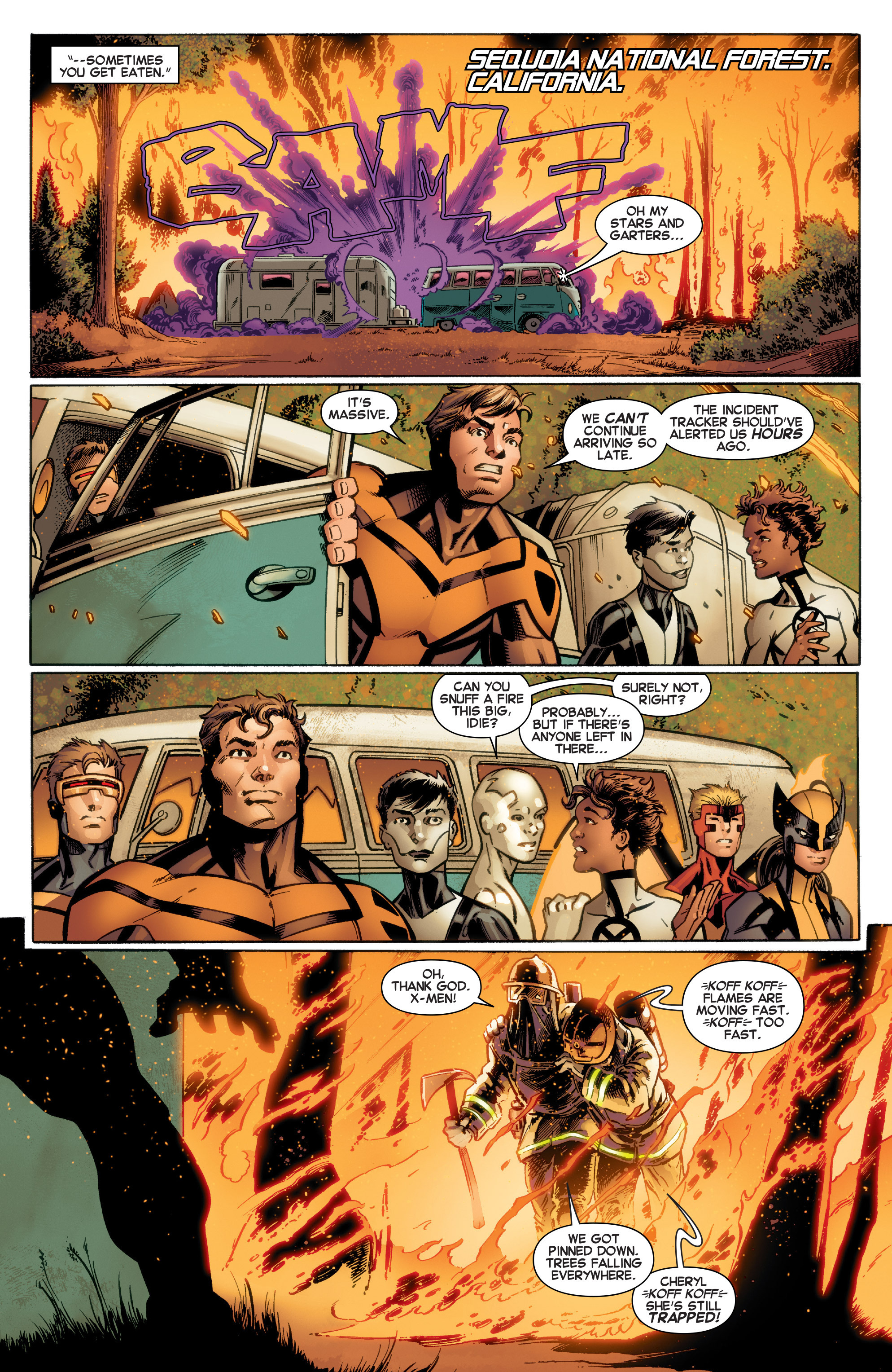 Read online All-New X-Men (2016) comic -  Issue #4 - 9
