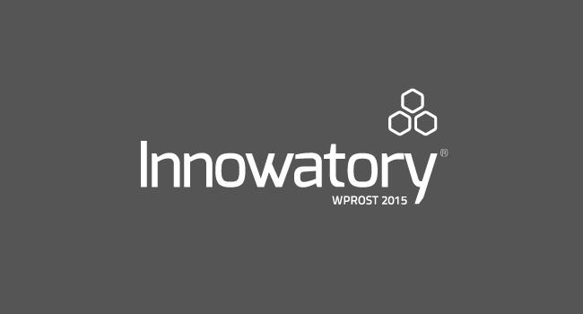Logo konkursu Innowatory Wprost 2015