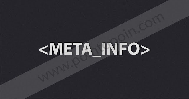 Tag Pada HTML Part 11 : Meta Info Tag
