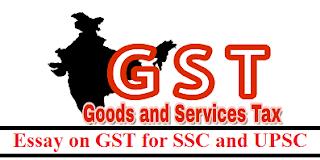 Essay on GST