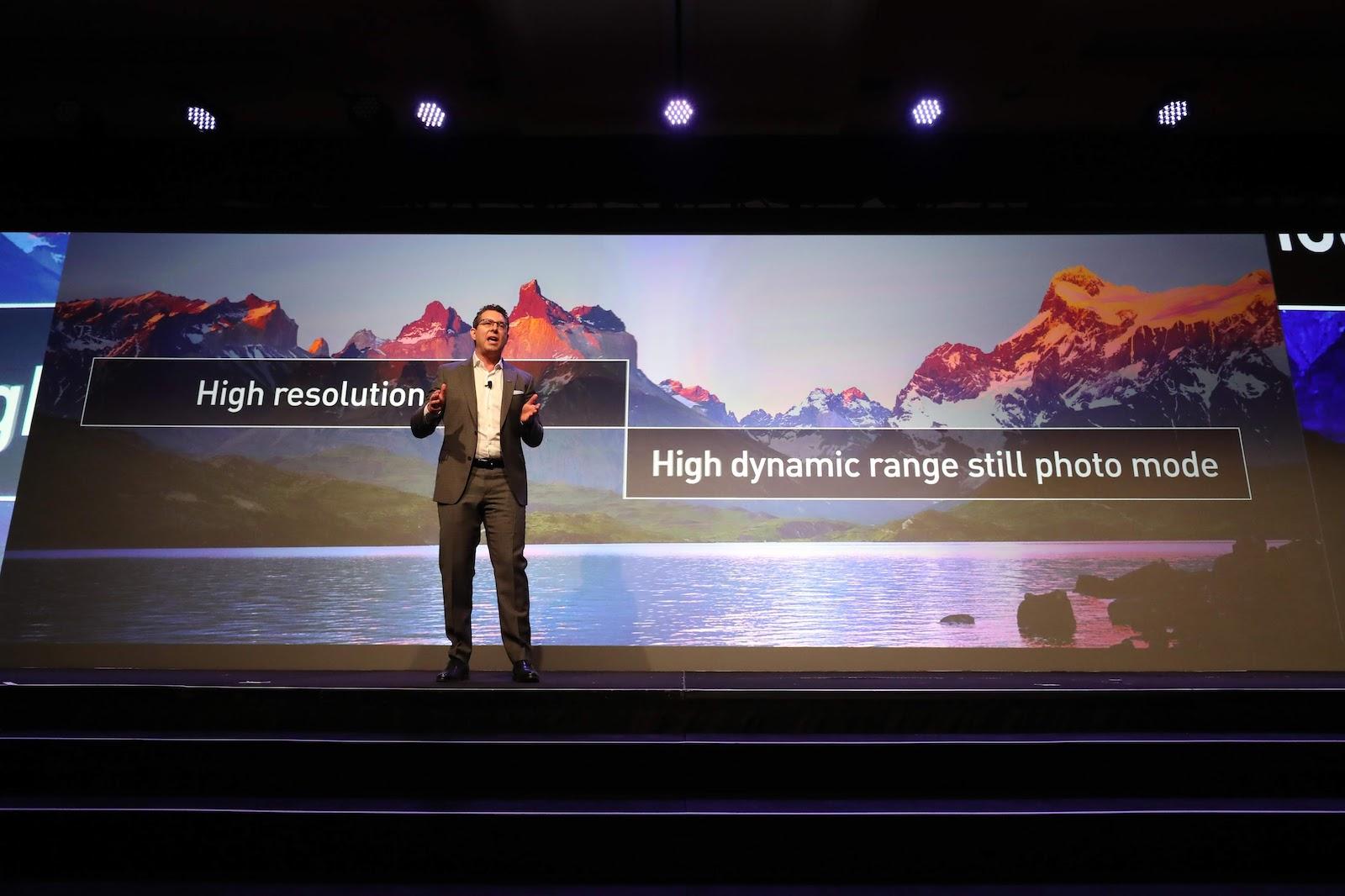 Презентация новых режимов Panasonic Lumix S