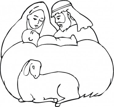 baby jesus beautiful photos: Baby Jesus Coloring Pages For