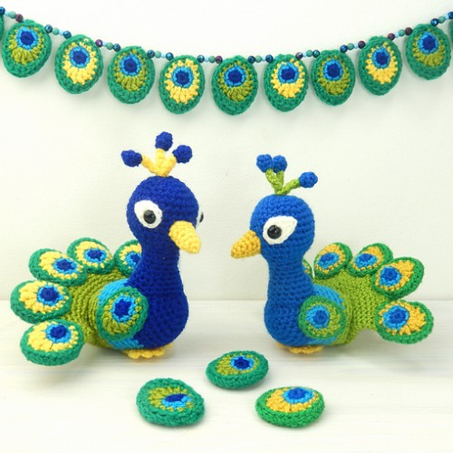 Paksha the Peacock - Crochet Pattern