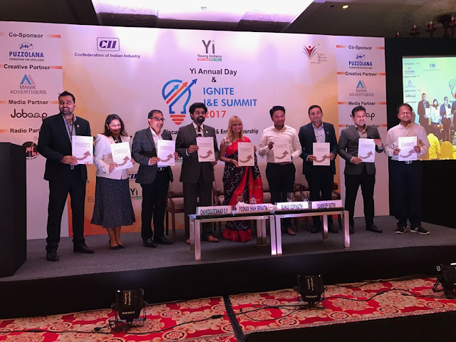 Release of Yi Hyderabad Annual Report 2017