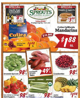 Sprouts Weekly Ad November 15 - 21, 2018 Black Friday