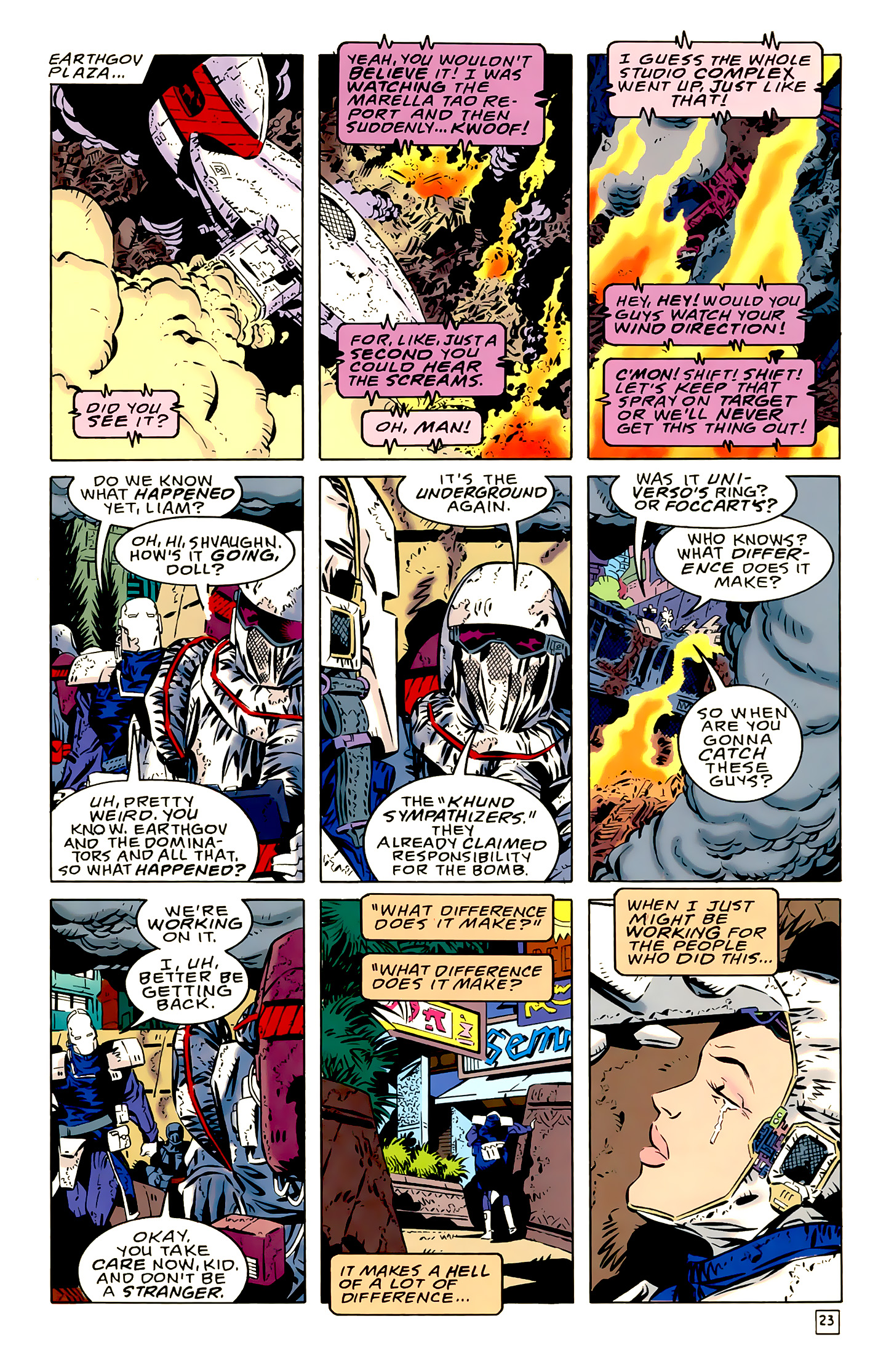 Legion of Super-Heroes (1989) 18 Page 23
