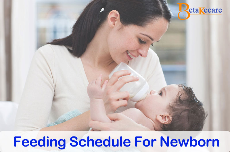 Feeding Schedule For Newborn