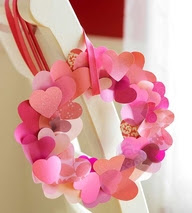 {handmade Valentine's Day crafts and decor link party!}