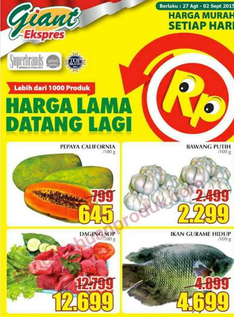 Katalog Giant Promo Edisi 27 Agustus- 2 September 2015