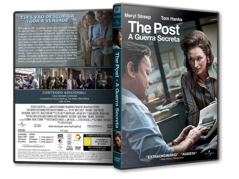 Capa DVD The Post: A Guerra Secreta [Custom]