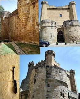 Detalles del castillo de Sajazarra