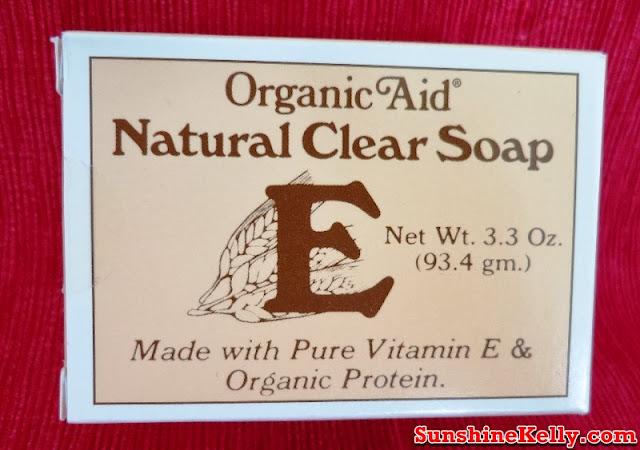 Organic Aid Skincare Review, Organic Aid Skincare, Organic Aid, Organic Aid Natural Clear Soap, organic skincare review, organic skincare, organic product, skincare, beauty