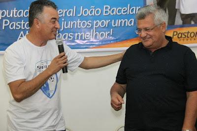 Vereador Pastor Lins e deputado federal Bacelar apoiam atividades desportivas em Alagoinhas