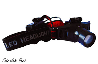 head light, headlamp, senter, naik, gunung, outdoor, peralatan