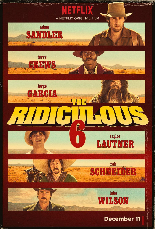 Nonton Film The Ridiculous 6 (2015)