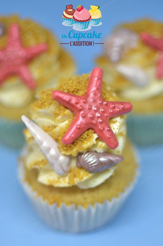 Cupcakes aux Biscuits Digestive : pour les fans des notes maltées et de la petite pointe salée de ce biscuit Britannique.