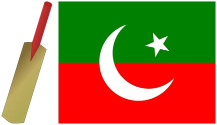 Election Symbol and Flag of PTI
