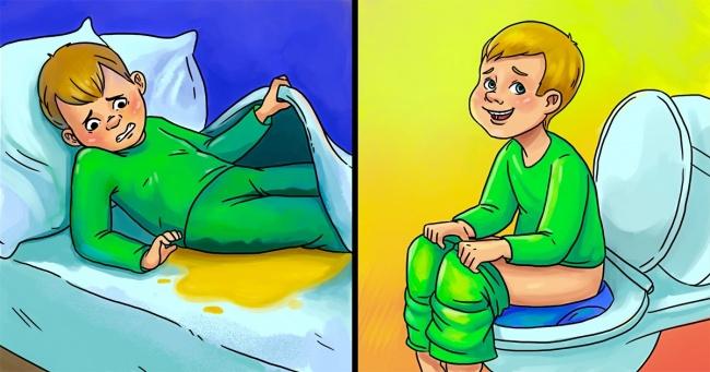 c534a3512 5 أشياء يمكنك القيام بها لمساعدة طفلك على التوقف عن ترطيب السرير ...