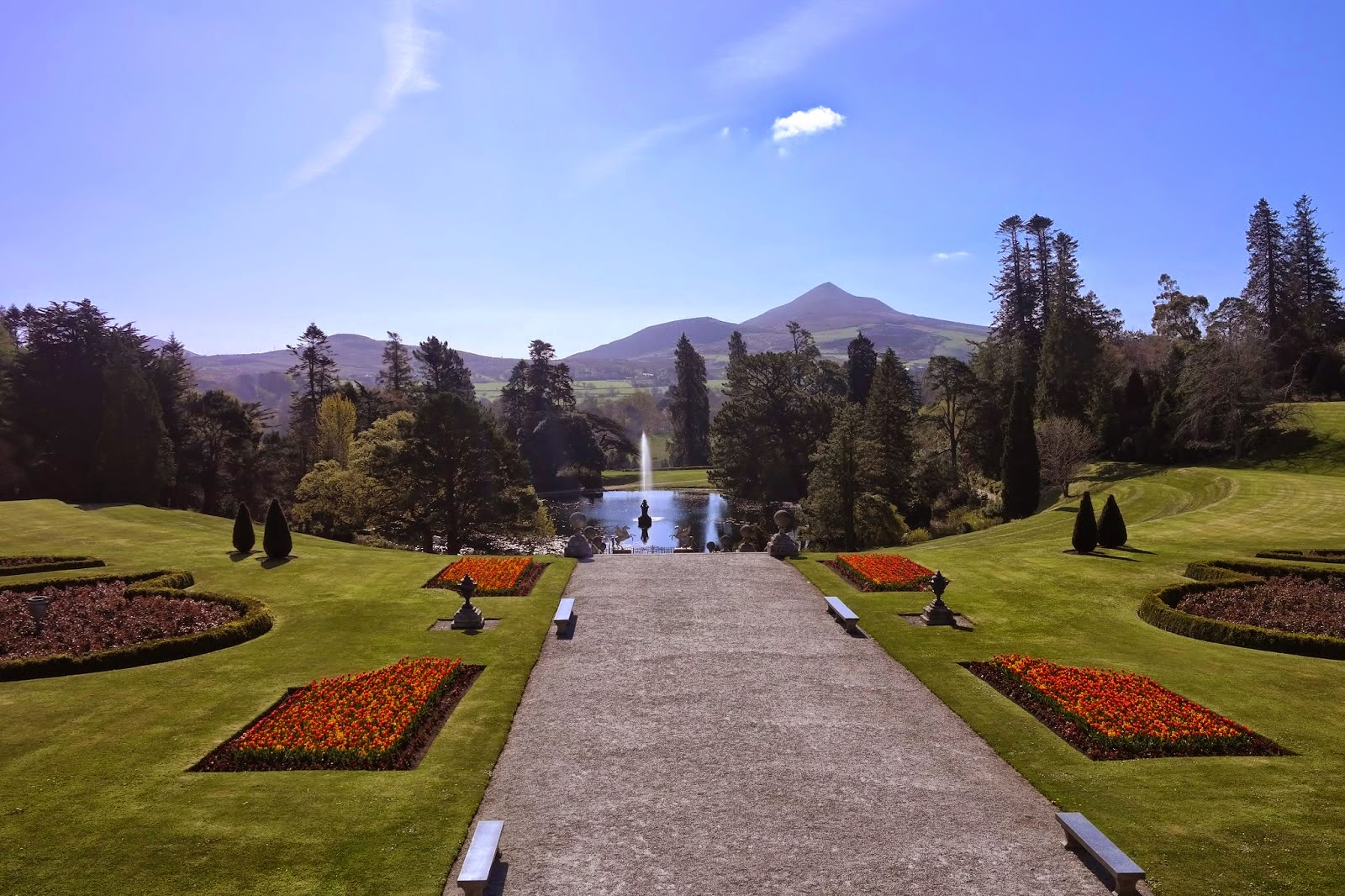 Things to do in Wicklow - Powerscourt Gardens