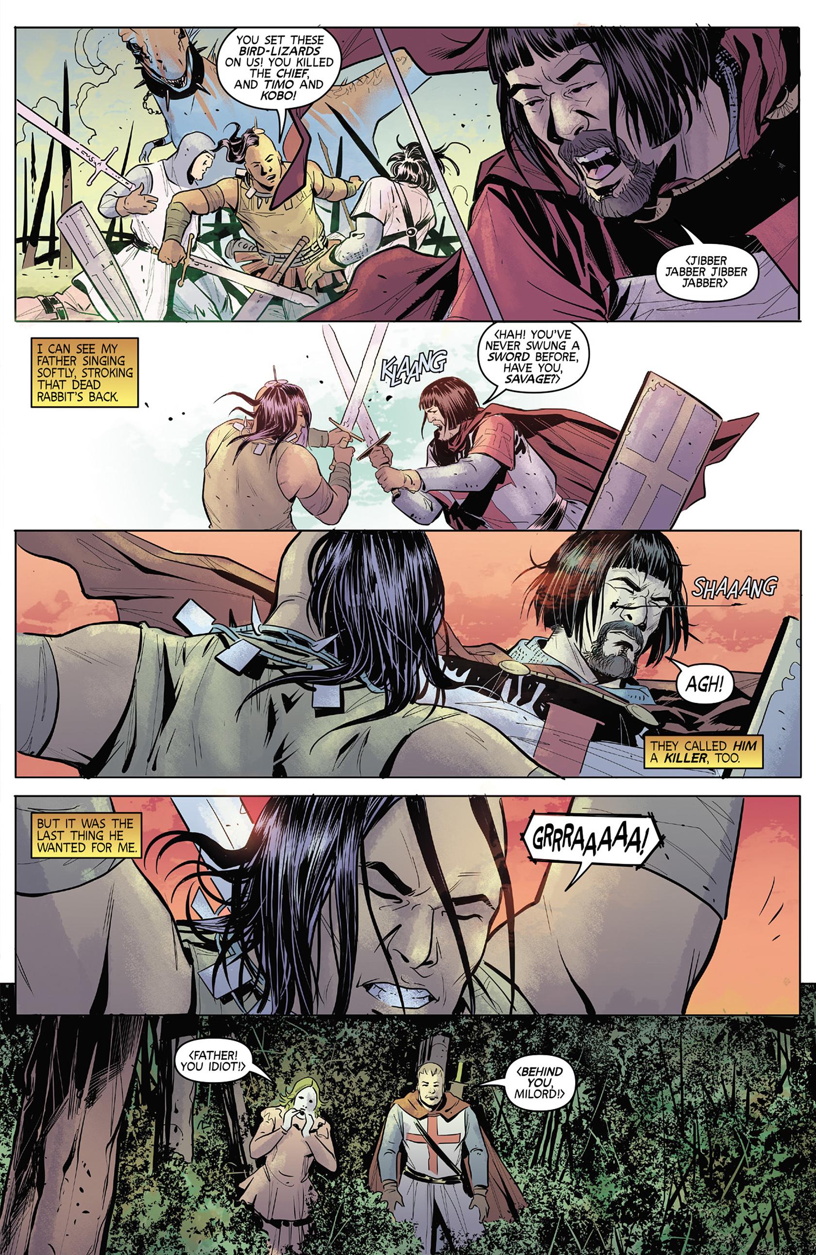 Read online Turok: Dinosaur Hunter (2014) comic -  Issue #4 - 5