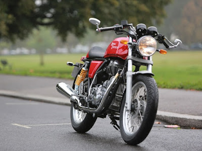 Royal Enfield Continental GT HD Red image