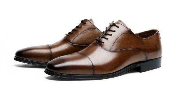 Men's Classic Cap Toe Oxford, #005