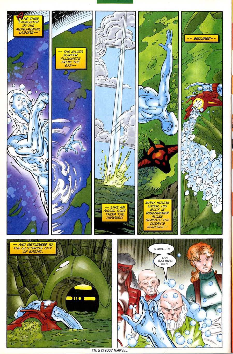 Read online Silver Surfer (1987) comic -  Issue #133 - 28