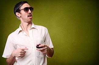Funny drunk man wedding guest joke picture