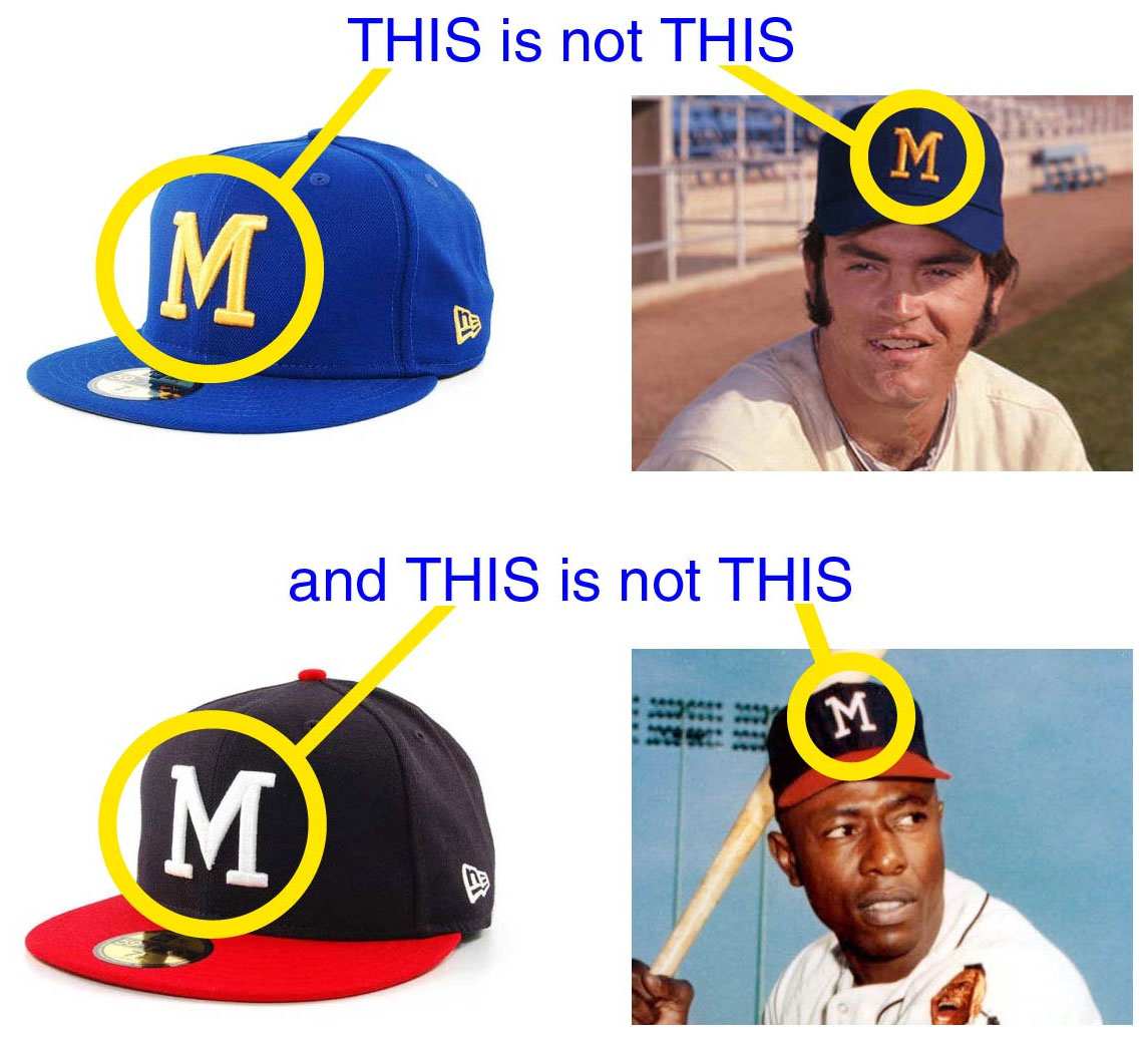 3e5c0f9751211e And now that we've fixed the Dodgers' logo, I'm hoping we can get the  Brewers to finally match their throwback caps to the actual 1970s logo (a  logo also ...