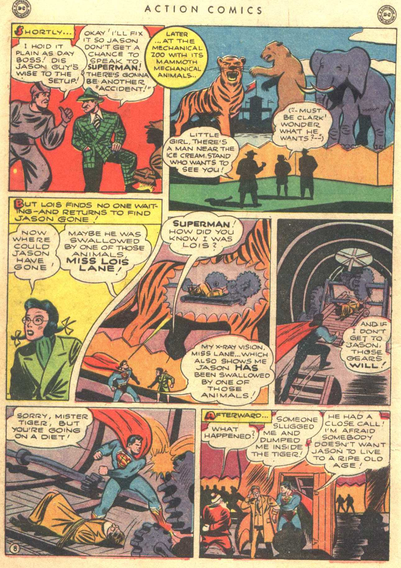 Read online Action Comics (1938) comic -  Issue #81 - 10