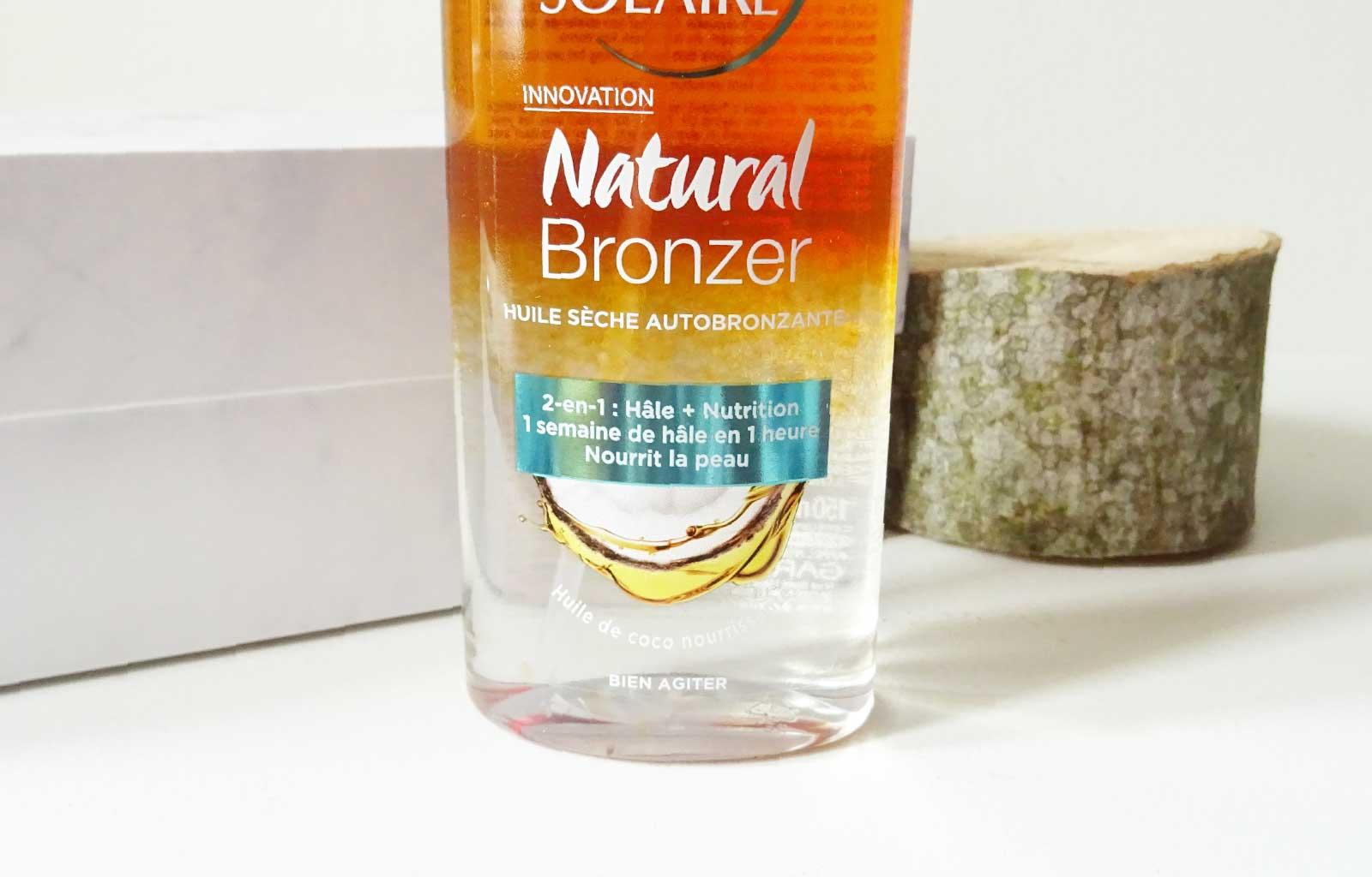 Huile sèche autobronzante Natural Bronzer Garnier