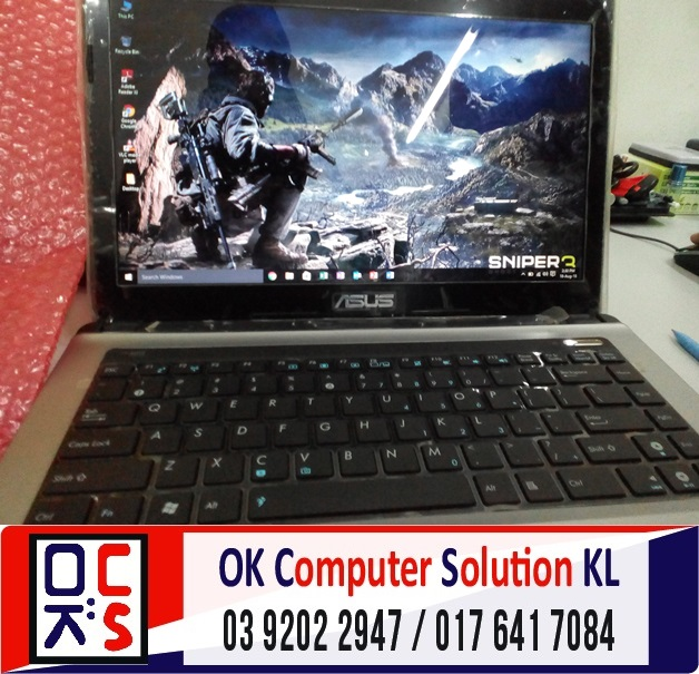 [SOLVED] STUCK AT WINDOWS ASUS A43S | REPAIR LAPTOP CHERAS 13