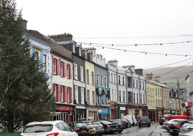 Bantry, Irlanti, värikkäät talot