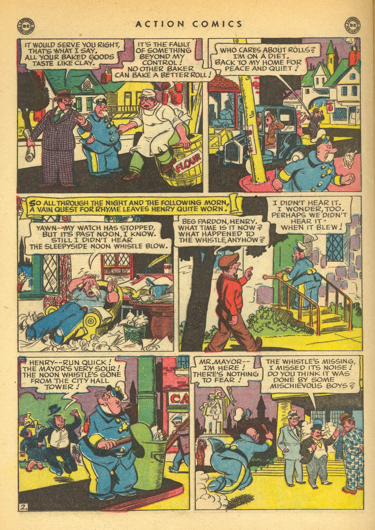 Read online Action Comics (1938) comic -  Issue #109 - 34